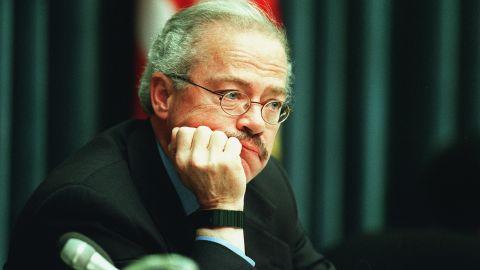 Rep. Bob Barr, R-Georgia, skipped Clinton's 1999 address after his impeachment.