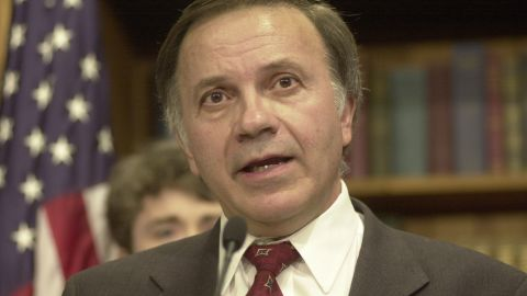 Rep. Tom Tancredo, R-Colorado, skipped Clinton's 1999 address after his impeachment.