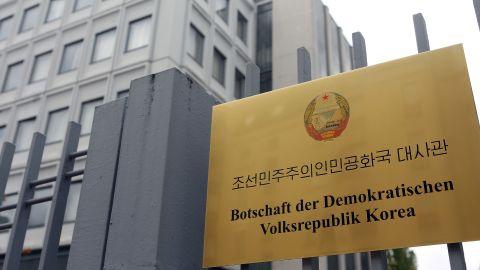 The North Korean embassy in Berlin.
