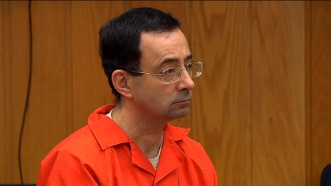 Larry Nassar admitted in court earlier this year to sexually abuse young girls over two decades.