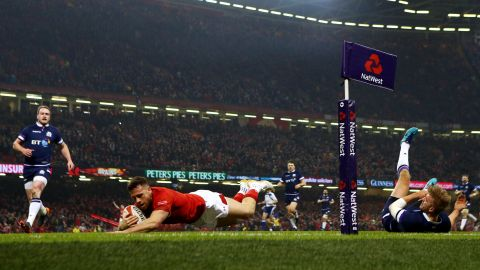 Scotland was another side to feel the blues on the opening weekend, succumbing 34-7 to Wales in Cardiff.