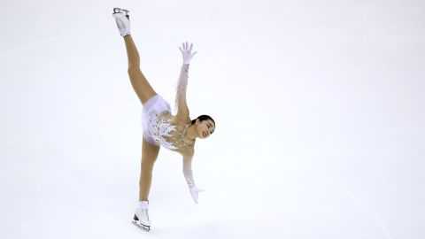Karen Chen, 18, won gold at the US National Championship in 2017 and finished third in the 2018 competition. Chen is from Fremont, California, which is the same hometown as Kristi Yamaguchi.