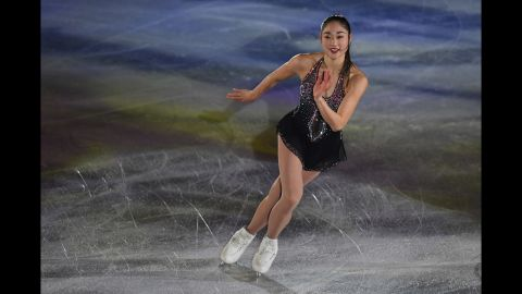 Mirai Nagasu is competing in her second Olympics. The 24-year-old from Montebello, California, is just the third American women to ever land a triple axel. At the 2010 Winter Games in Vancouver, she finished fourth, just shy of the podium.