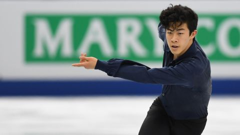 Nicknamed the Quad King, Nathan Chen, 18, is expected to land a bevy of quadruple jumps. The teenager from Salt Lake City, Utah, won his second consecutive US figure skating title this year after landing five quads, which he set a record for doing in the 2017 US National Championship.