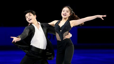 """Alex Shibutani, 26, and his younger sister, Maia Shibutani, 23, are competing in their second Olympics, having competed in the 2014 games in Sochi, where they finished 9th. The """"Shib Sibs"""" are from Ann Arbor, Michigan, and have never skated with any other partners."""