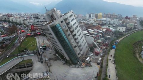 Scores are unaccounted for in Hualien, Taiwan, following a magnitude 6.4 earthquake.