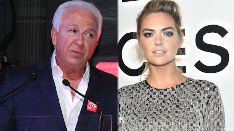 BARCELONA, SPAIN - MAY 03: Paul Marciano attends the Guess Foundation Denim Day Charity at Salt Restaurant - W Hotel on May 3, 2016 in Barcelona, Spain. (Photo by Miquel Benitez/Getty Images)  NEW YORK, NY - SEPTEMBER 13: Kate Upton attends Michael Kors and Google Celebrate new MICHAEL KORS ACCESS Smartwatches at ArtBeam on September 13, 2017 in New York City. (Photo by Dimitrios Kambouris/Getty Images for Michael Kors)