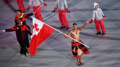 Pita Taufatofua competed in Taekwondo at the summer games Rio 2016. This wasn't enough for the Tongan flag-bearer, and he decided to take on the winter ones too, competing in the 15-kilometer cross country skiing event. He crossed the line in 114th position.