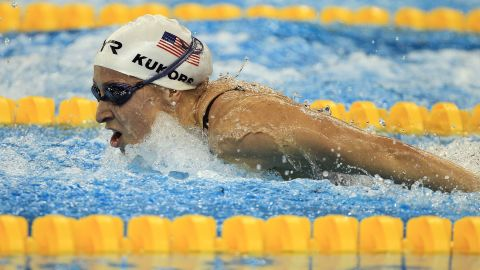 Ariana Kukors won gold medals at two world championships.