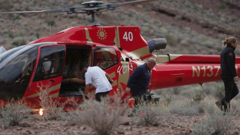 Rescuers were delayed from reaching the crash sight because of the terrain