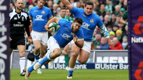 While Italy crossed for three tries, it wasn't enough to secure a bonus point. The Azzurri remain winless and bottom of the championship.