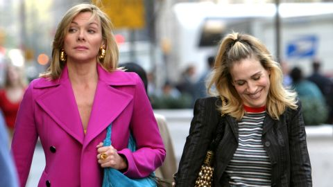 """Kim Cattrall and Sarah Jessica Parker were apparently better friends on """"Sex and the City"""" than in real life. There had long been speculation that the pair were on bad terms and in February <a href=""""https://www.instagram.com/p/BfBIPebAmFX/?taken-by=kimcattrall"""" target=""""_blank"""" target=""""_blank"""">Cattrall slammed Parker on social media</a> for reaching out after the death of Cattrall's brother."""
