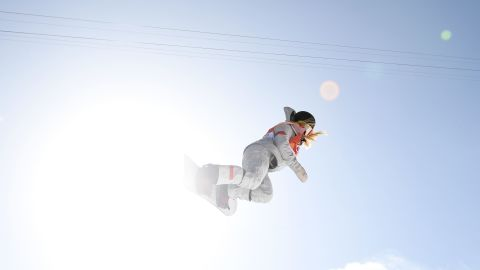 US teenage Chloe Kim made history, becoming the youngest female Winter Olympic gold medalist. The 17-year-old got a near-perfect score of 98.25 in the women's halfpipe.