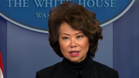 Gas tax Trump Elaine Chao sot_00000000.jpg