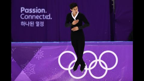 After a disastrous short program, Chen threw a historic 6 quads to leap from 17th place to fifth.