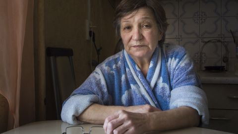 Farkhanur Gavrilova, whose son was reportedly killed in a US airstrike in Syria.