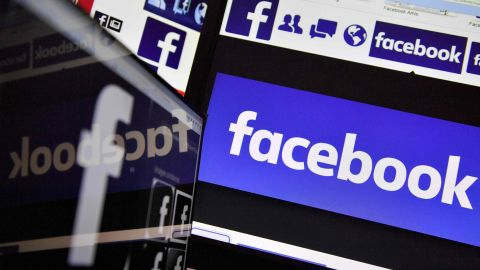 (FILES) This file photo taken on November 20, 2017 shows logos of US online social media and social networking service Facebook. The European Commission said on February 15, 2018 that US social media giants have made an effort to comply with EU consumer protection rules, but that Facebook and Twitter have not made all the required changes.  / AFP PHOTO / LOIC VENANCELOIC VENANCE/AFP/Getty Images