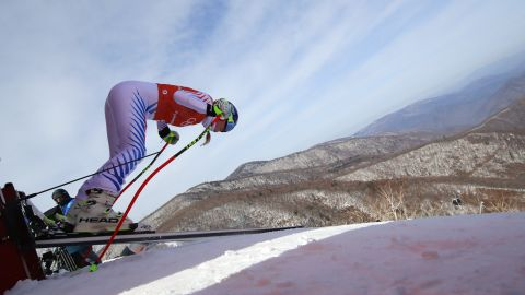 While the race will be her last Olympic downhill, Vonn says she can't get too sentimental until the race is over.