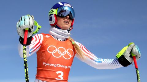 """It was the last Olympics for American Lindsey Vonn, the most successful women's ski racer of all time. <a href=""""http://www.cnn.com/2018/02/17/sport/lindsey-vonn-super-g-julie-foudy-intl/index.html"""">She was denied gold in her signature event, the downhill, walking away with bronze.</a> She failed to complete her last Olympic race, after missing a gate in the slalom."""
