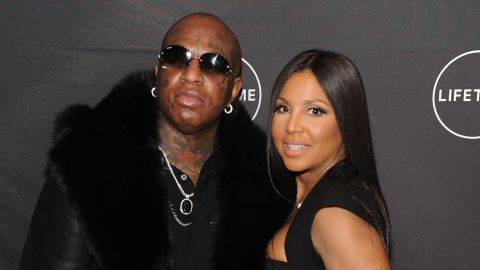 """NEW YORK, NY - JANUARY 23:  Birdman and Toni Braxton attends Lifetime""""s Film,""""Faith Under Fire: The Antoinette Tuff Story"""" red carpet screening and premiere event at NeueHouse Madison Square In New York, NY on January 23, 2018. (Photo by Craig Barritt/Getty Images for Lifetime)"""