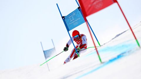 Austrian superstar Marcel Hirscher won his first Olympic gold in the alpine combined on day four. On day nine, he won his second, in the giant slalom. But the 28-year-old missed out on a third, after crashing in the men's slalom.