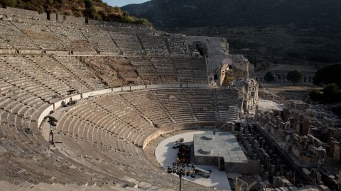 Said to have capacity for 25,000 people, its size helps archaeologists understand the scale of the ancient city's population. Dating from the 3rd century BC, the Hellenistic structure played a part in entertainment as well as political and religious gatherings.