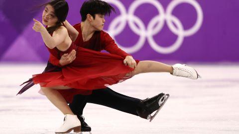 Maia Shibutani and Alex Shibutani of the United States won bronze in the Ice Dance.