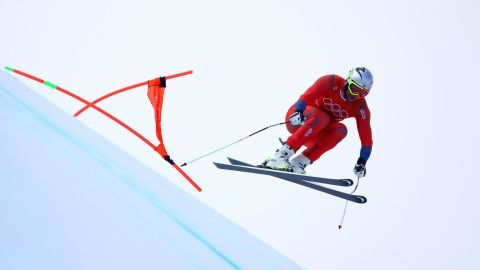 """Aksel Lund Svindal of Norway became the oldest Olympic alpine skiing champion at the age of 35. <a href=""""http://www.cnn.com/2018/02/21/sport/aksel-svindal-and-mom/index.html"""">He was also the first from his country to win gold in the downhill event.</a>"""