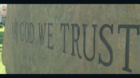 """Louisiana law requires the words """"In God We Trust"""" to be displayed at all public schools."""