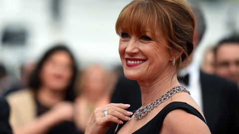 """CANNES, FRANCE - MAY 14:  Actress Jane Seymour attends Premiere of """"Mad Max: Fury Road"""" during the 68th annual Cannes Film Festival on May 14, 2015 in Cannes, France.  (Photo by Ben A. Pruchnie/Getty Images)"""