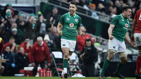 Victory means Ireland is the only side at this stage to maintain its 100% record in this year's Six Nations.