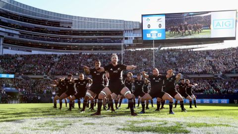 """The two sides aren't the first tier one nations to stage a match in the USA. The All Blacks faced Ireland in front of <a href=""""https://edition.cnn.com/2016/11/05/sport/rugby-soldiers-field-ireland-all-blacks/index.html"""">a sold-out crowd at Chicago's Soldier Field</a> in November 2016."""