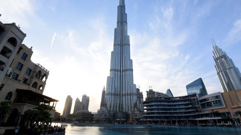 DUBAI, UNITED ARAB EMIRATES - APRIL 13:  General view of Burj Khalifa on April 13, 2017 in Dubai, United Arab Emirates.  (Photo by Tom Dulat/Getty Images)