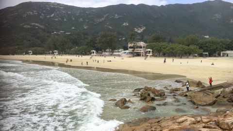 Within a short drive of the city center, there are mountains for hiking and beaches for swimming or surfing, providing locals with outdoor activities to keep fit. Pictured, Shek O beach in Hong Kong.