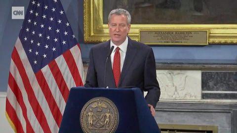 new york mayor bill de blasio school chancellor surprise bts _00004014.jpg