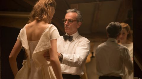 """<strong>""""Phantom Thread""""</strong>: Daniel Day Lewis stars as a complicated couturier opposite Leslie Manville in this critically acclaimed film. <strong>(HBO Now) </strong>"""