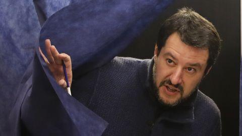 Matteo Salvini's League party rode the wave of anti-establishment sentiment.