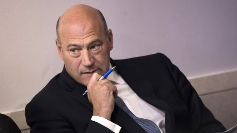 WASHINGTON, DC - SEPTEMBER 28: Director of the National Economic Council Gary Cohn waits to speak during the daily news briefing at the James Brady Press Briefing Room of the White House, September 28, 2017 in Washington, DC. Cohn discussed the administration's plans  for reforming the tax code. (Photo by Drew Angerer/Getty Images)