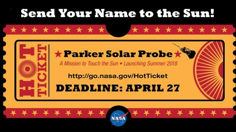 Now people can sign up to get their name close to the sun.