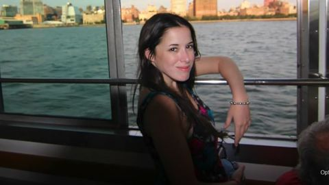 Carla Vallejos Blanco was killed in the helicopter crash on Sunday.