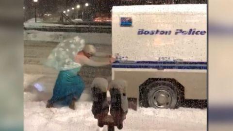 """Elsa"" Boston snow"