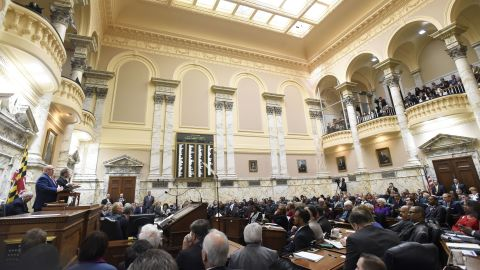 Maryland lawmakers are weighing a bill that would retire the pro-Confederacy state song.