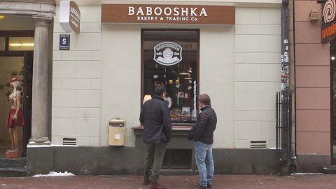 The Babooshka bakery in Riga.