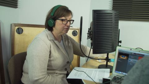 Galina Timchenko, executive editor of the Meduza news website.