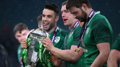 It was Ireland's third ever Grand Slam and first since 2009.