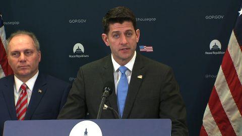 House GOP Leadership Presser with Speaker Ryan