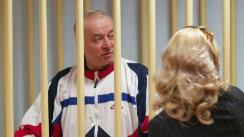 MOSCOW, RUSSIA - MARCH 6, 2018: Pictured in this file image dated August 9, 2006, is retired colonel Sergei Skripal during a hearing at the Moscow District Court. File image/Press Office of Moscow District Military Court/TASS (Photo by TASS\TASS via Getty Images)