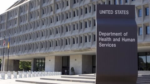 Washington, UNITED STATES: The US Department of Health and Human Services building is shown in Washington, DC, 21 July 2007. The department, which began operations in 1980, has more than 67,000 employees. AFP PHOTO/Saul LOEB