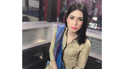 Marvia Malik says she hopes she can be a role model for transgender kids in Pakistan.