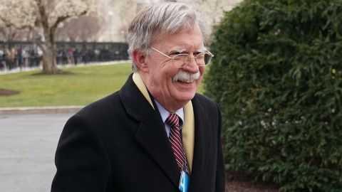 National security advisor designate John Bolton is seen on the driveway of the White House on March 27, 2018 in Washington, DC. (MANDEL NGAN/AFP/Getty Images)